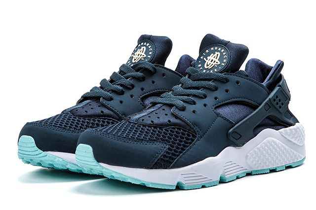 Nike Air Huarache Armory Navy Detailed Look 3