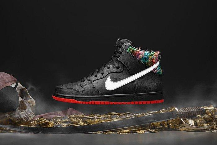 Pirate Nike Dunk 4