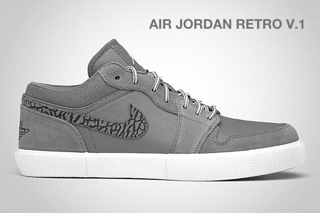Air Jordan Retro V 1 Cool Grey 1