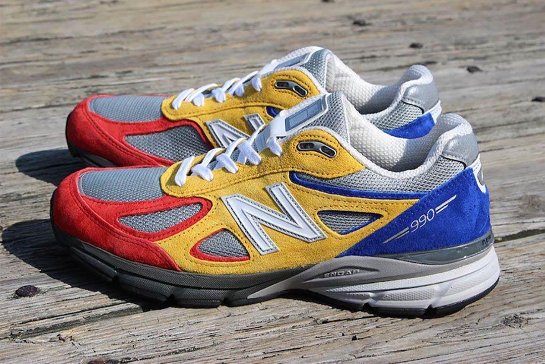 Shoe City Eat New Balance 990V4 Pair