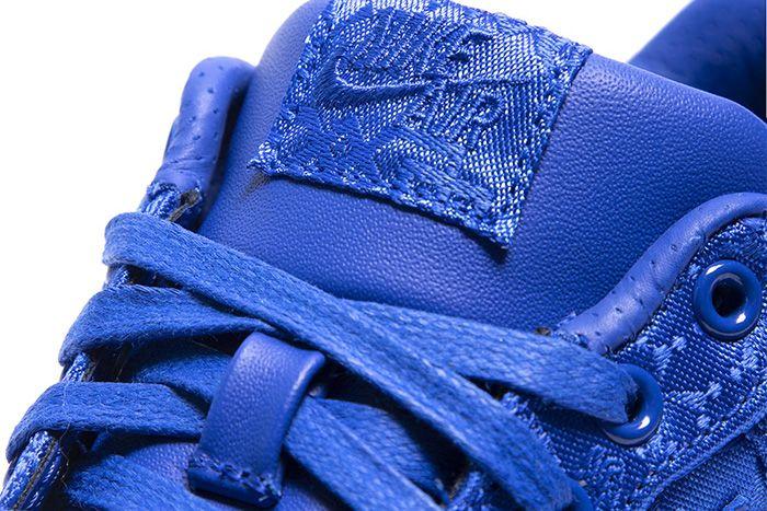 Clot Nike Air Force 1 Low Royale University Blue Silk Cj5290 400 Release Date Tongue