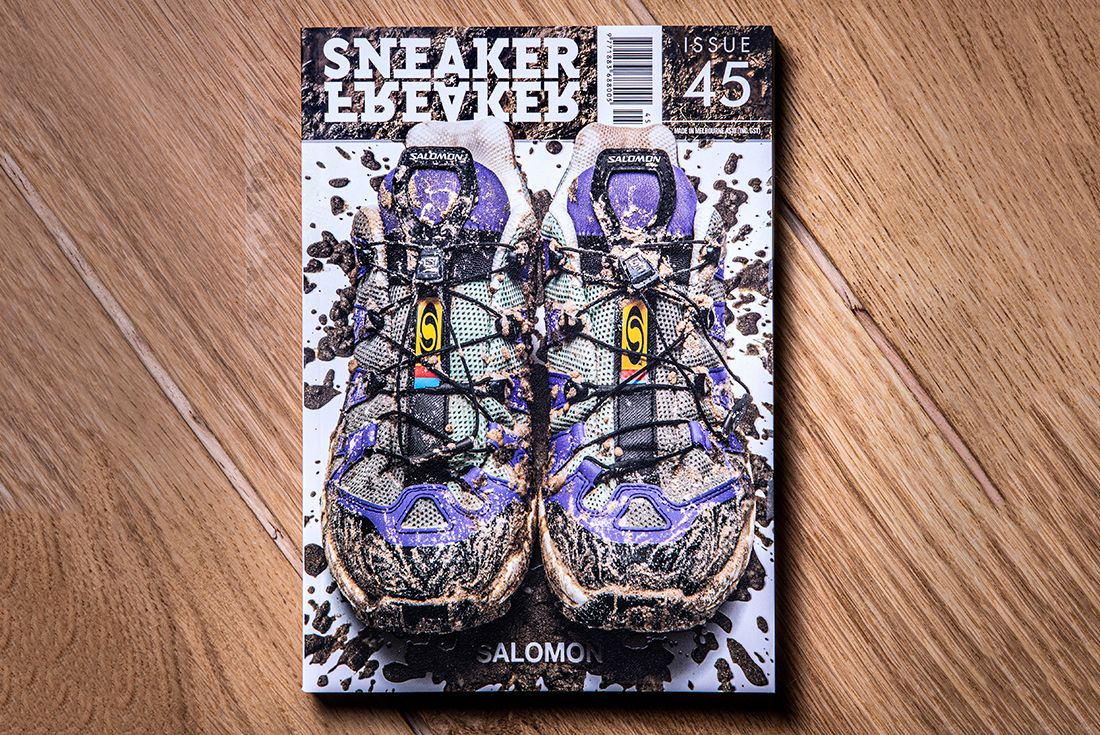 Sneaker Freaker Issue 45 limited edition cover