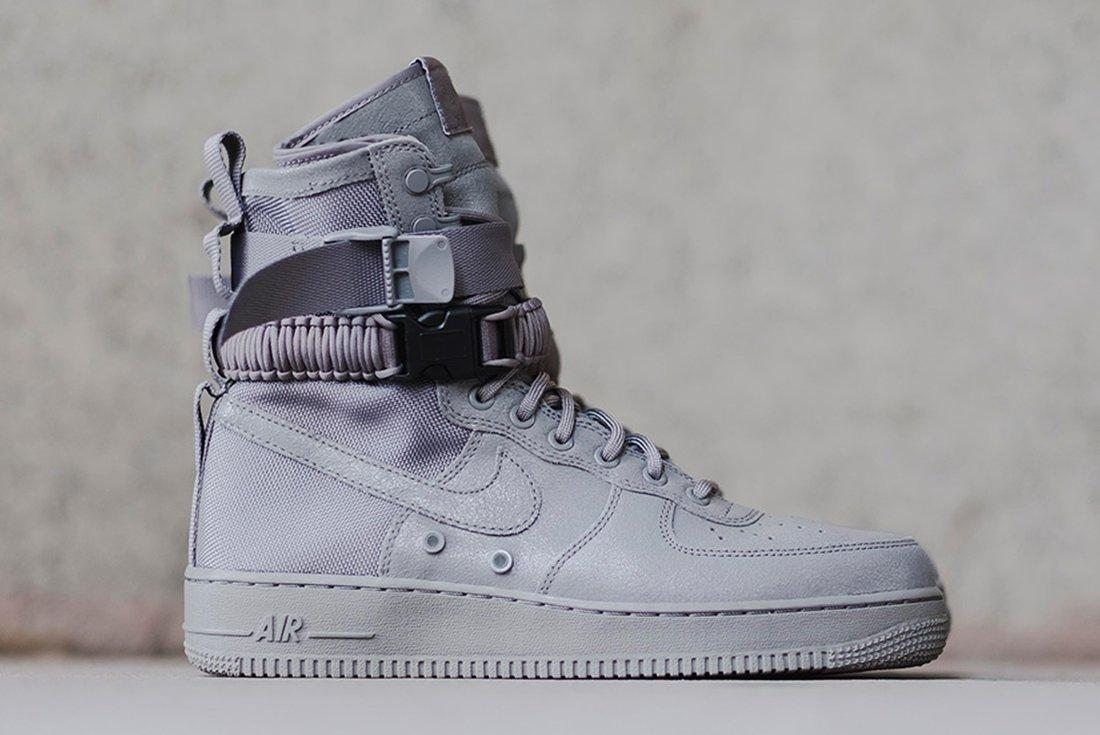 Nike Sf Air Force 1 Grey 1
