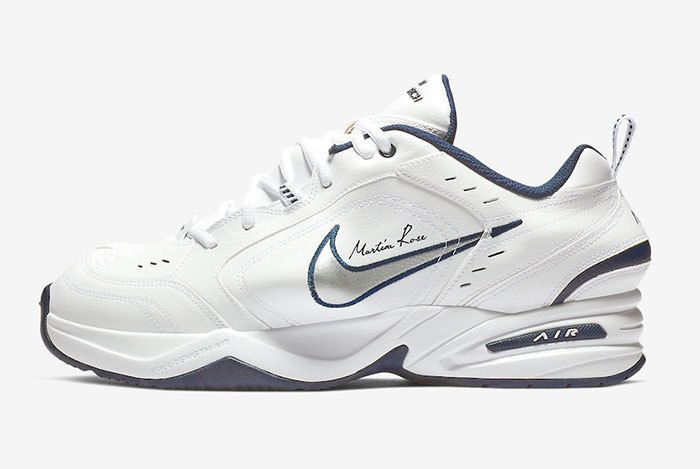 Nike Air Monarch Martine Rose White At3147 100 Release Date