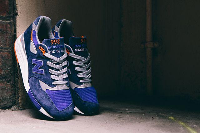 New Balance 998 Cobalt Blueorange5