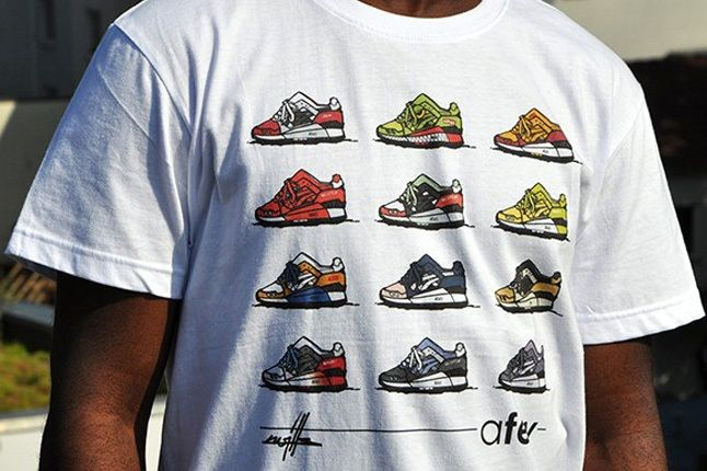 Afew X Kwills Best Of Gel Lyte Iii Shirt Promo 1