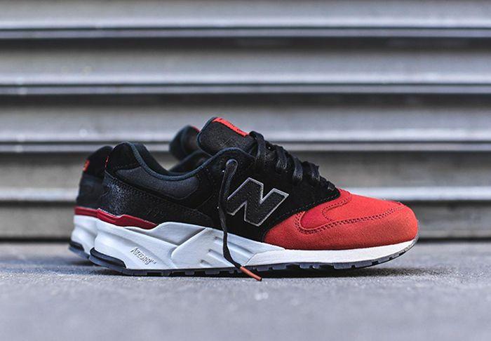 New Balance 999 Black Red Toe 1