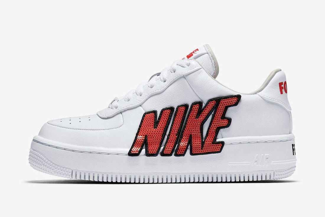 Nike Air Force Uptown Sequin 5