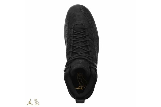 Drake Air Jordan Octobers Very Own Black 12 Outsole