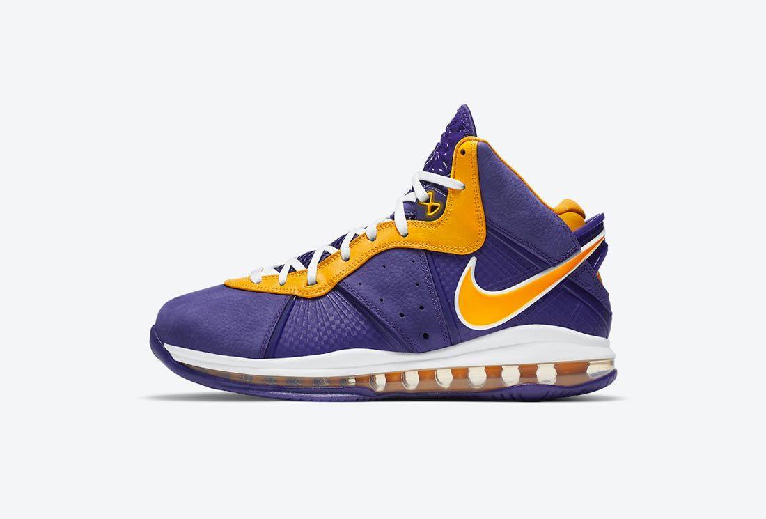 Nike LeBron 8 'Lakers'