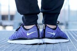 Nike Free Flyknit Nsw Court Purple Thumb