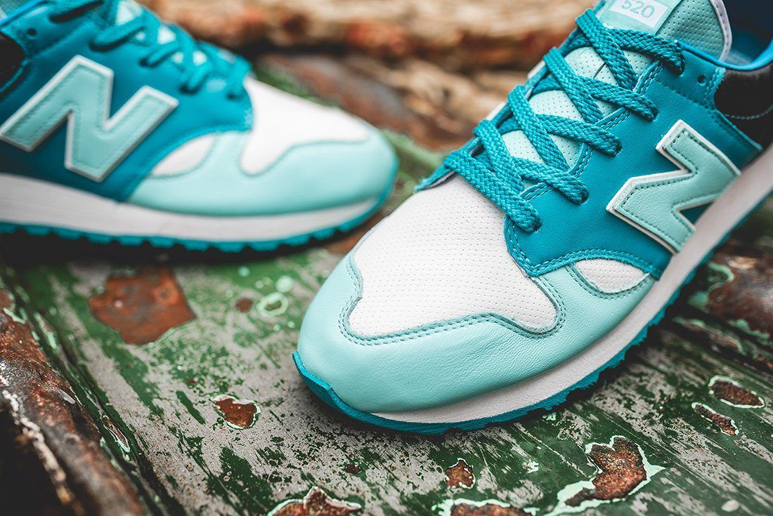 Hanon X New Balance U520 Hnf Fishermans Blues 3