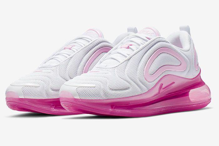 Nike Air Max 720 Pink Rise Toe