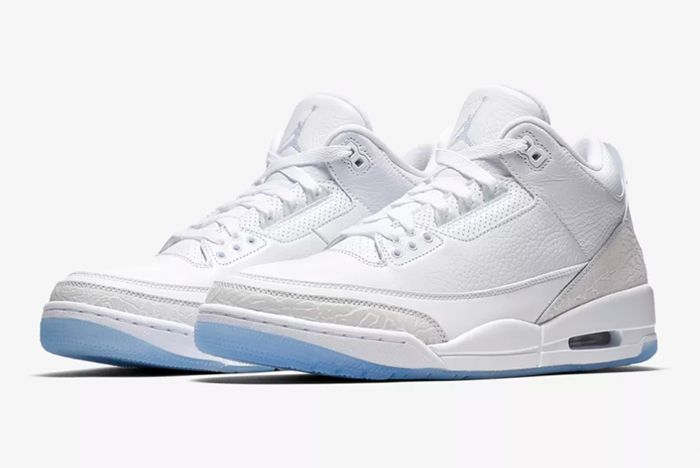 Air Jordan 3 White 5