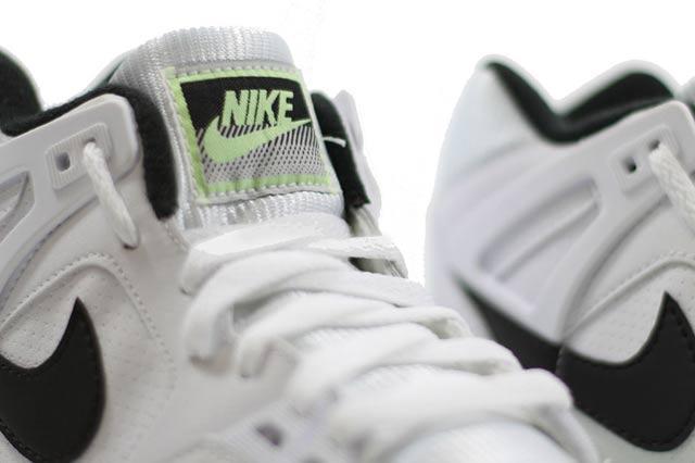 Nike Air Tech Challenge Ii White Black Lime 2