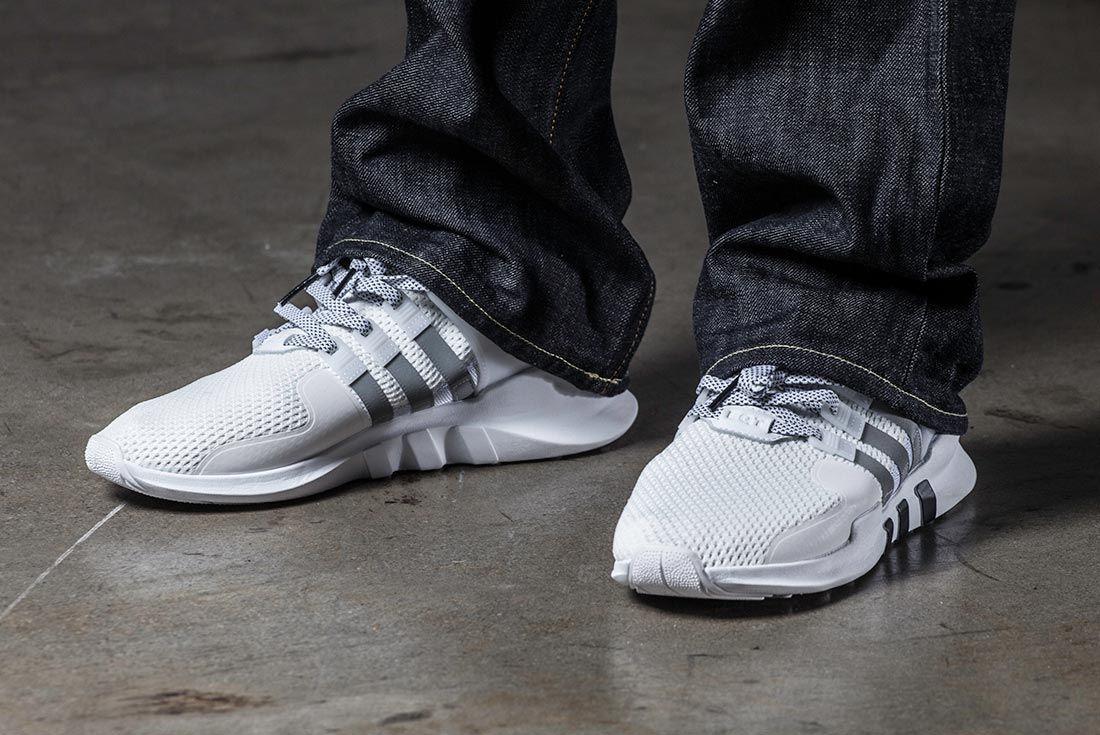Adidas Eqt Adv Triple White Art Basel