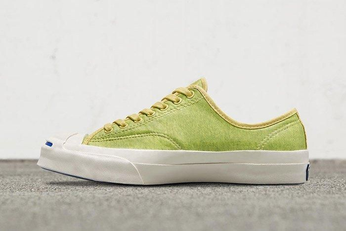 Converse Jack Purcell Signiature Low Top Coated Terry Green 2