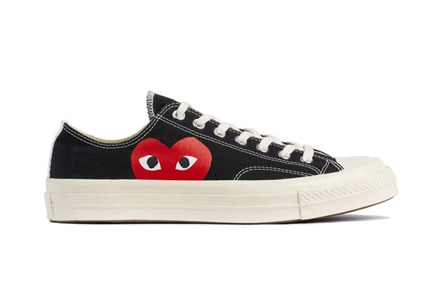 Comme Des Garcons Play X Converse Chuck Taylor All Star 70 Collection