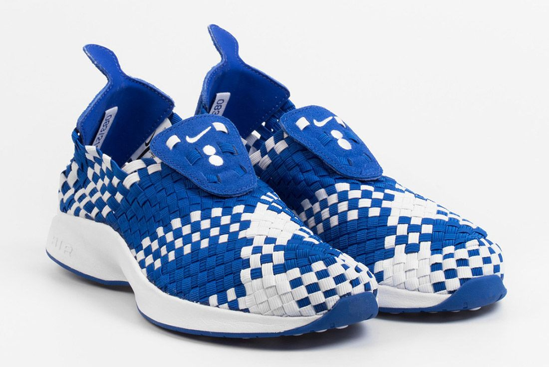 Colette Nike Air Woven The Beach White Blue 1