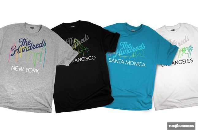 The Hundreds City Tees 1