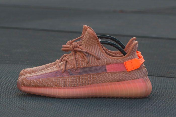 Sneak Peek Adidas Yeezy Boost 350 Clay Left 2