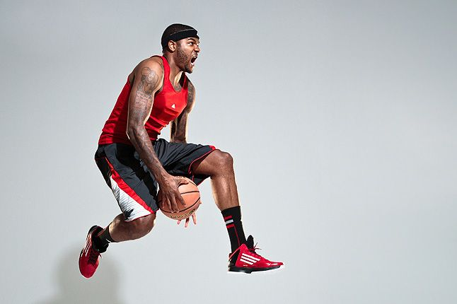 Josh Smith Adizero Ghost 2 Dunking 11