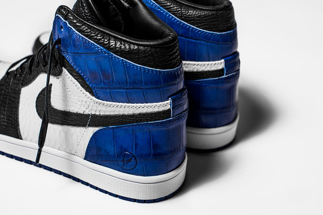 Bespoke Fragment X Air Jordan 1S By The Shoe Surgeon3