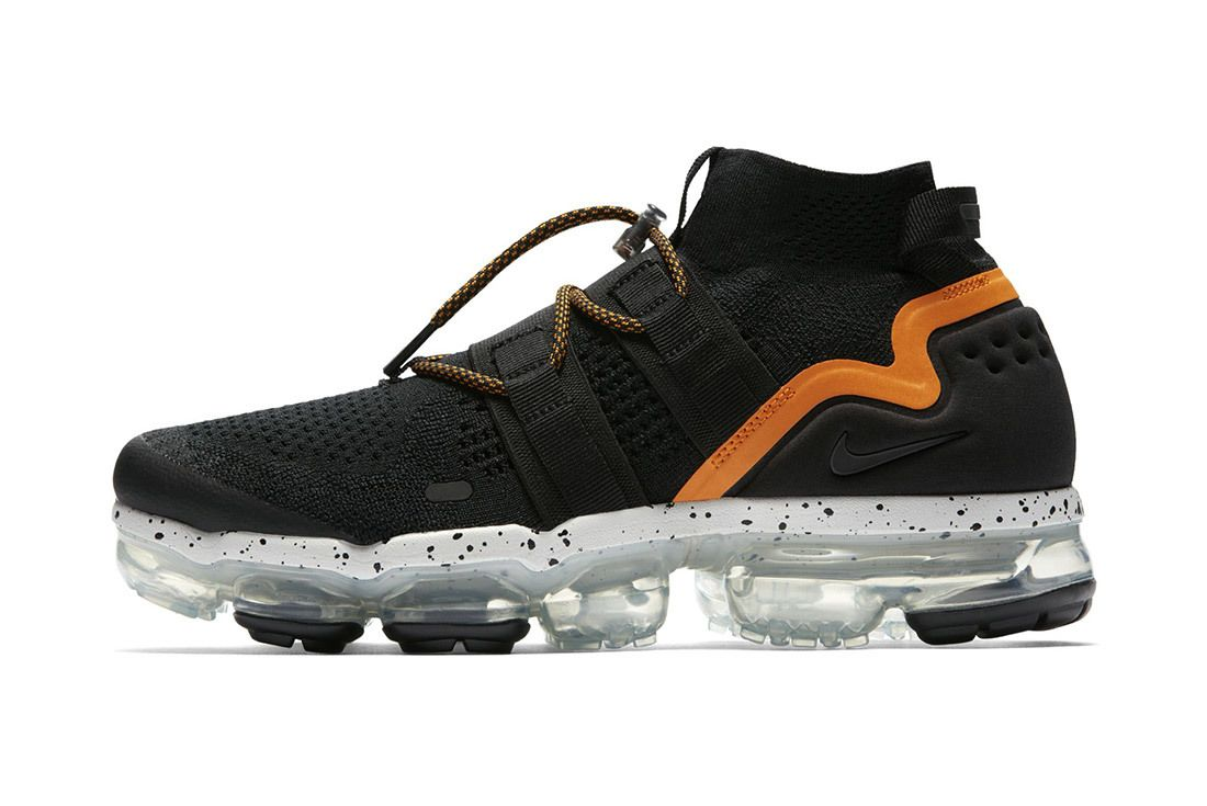 Nike Air Vapormax Utility Black Orange 5