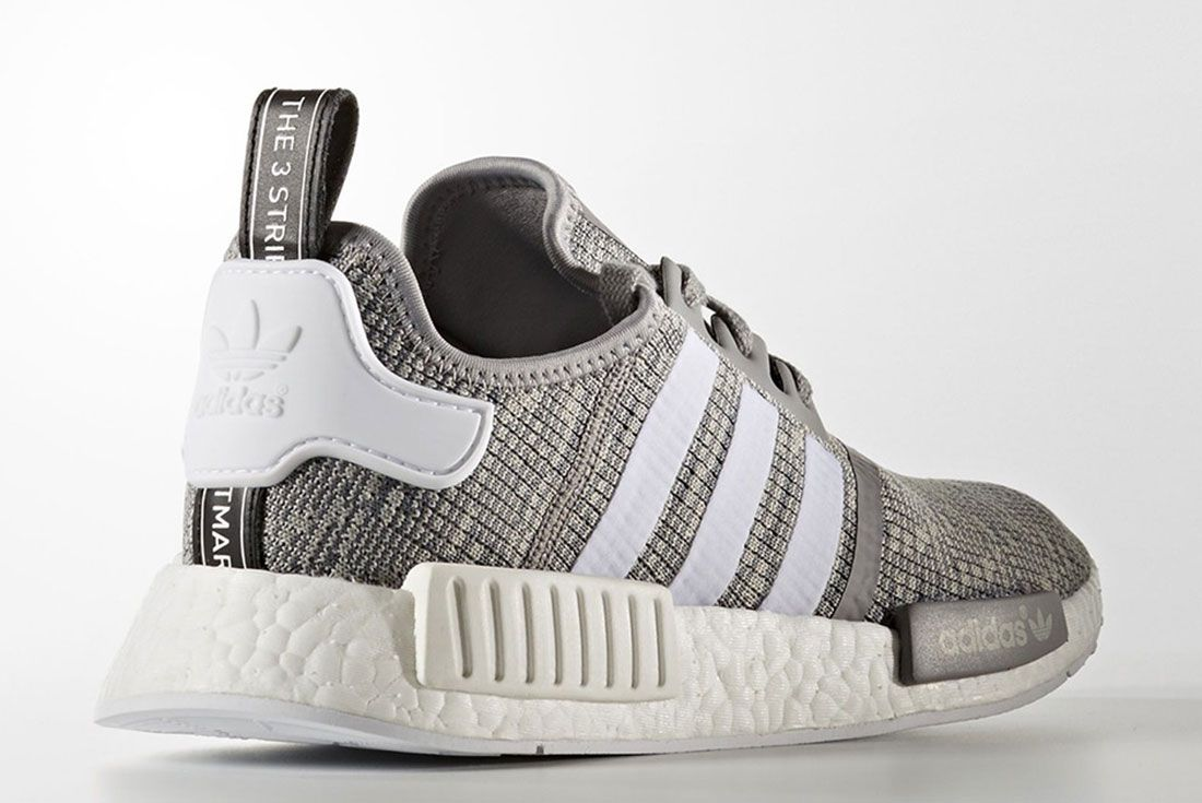 Adidas Nmd R1 Grey Glitch Pack R5