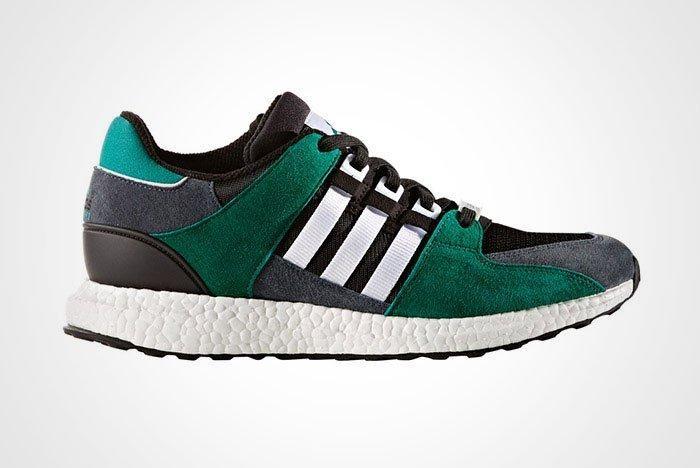 Adidas Eqt Support 93 16 Boost Green Black Thumb