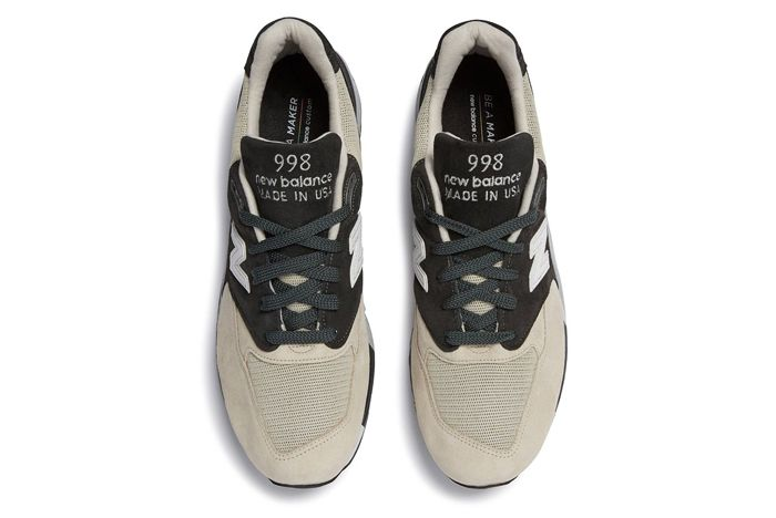Todd Snyder X New Balance 998 Black And Tan1