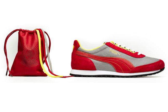 Puma Zdc82 Red Grey Yellow Shadow Society 1