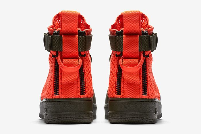 Nikes Sf Af 1 Goes Off Duty In Crimson Mesh3