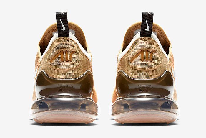 Nike Air Max 270 Elemental Gold Ah8050 700 Release Date Heels Sneaker Freaker