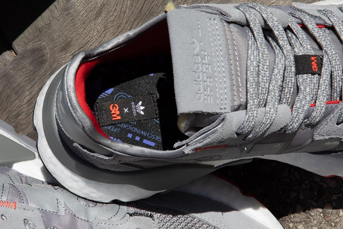 Nite Jogger Off Foot Grey Insole