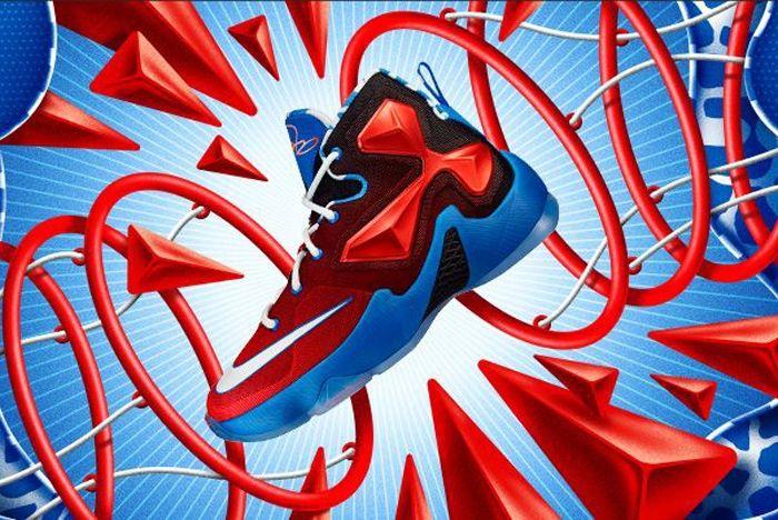 Nike Lebron 13 Kids Mini Hoop 1