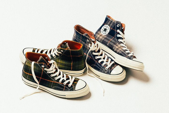 Converse Chuck Taylor All Star 70 Hi Plaid 2