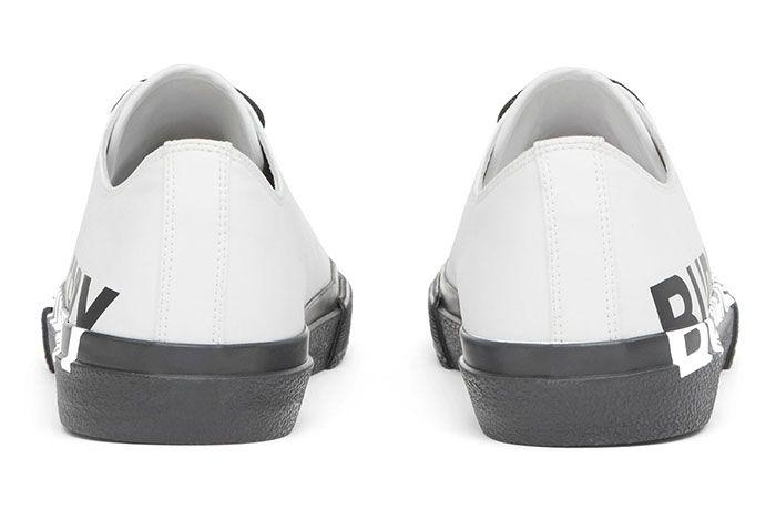 Burberry Logomania Graces Premium Gabardine In Two New Colorways 003 Heel