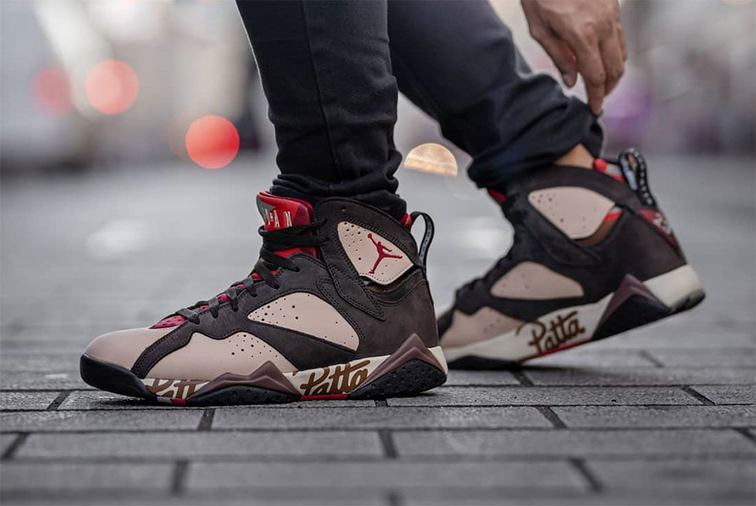 Patta Air Jordan 7 Styling