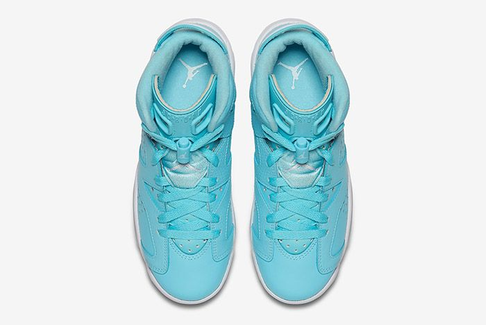 Air Jordan 6 Pantone Blue Gs 3