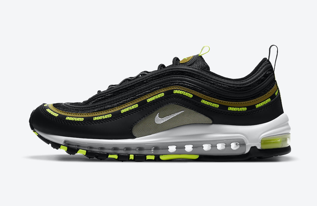 UNDEFEATED x Nike Air Max 97 Black DC4830-001