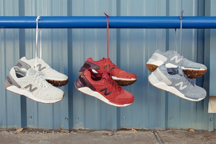New Balance 009 Speckle Suede7