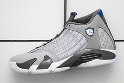Air Jordan 14 Blue Bumper 1