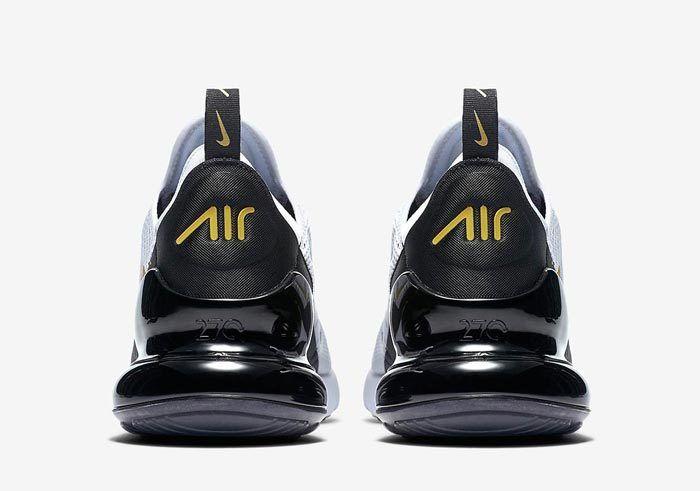 Nike Air Max 270 White Black Gold Av7892 100 5 700