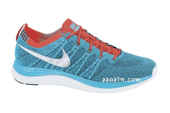 Nike Wmns Flyknit Lunar1 Red Blue 1