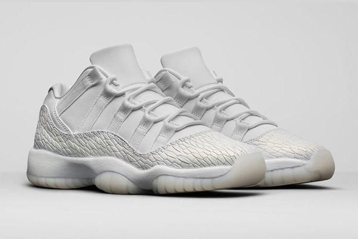 Air Jordan 11 Gg Heiress Pure Platinum2