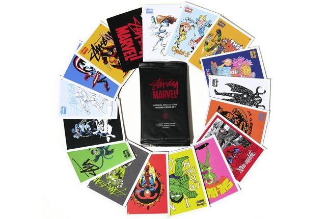 Stussy Marvel Trading Cards 1