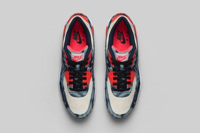 Nike Air Max 90 Qs Bleached Denim Bump 1