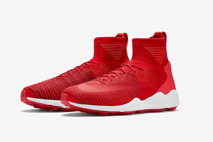 Nike Zoom Mercurial Xi Flyknit Red 1
