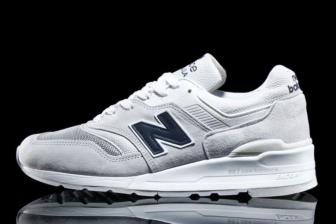 New Balance 997 – Made In Usa Pebbled White 3